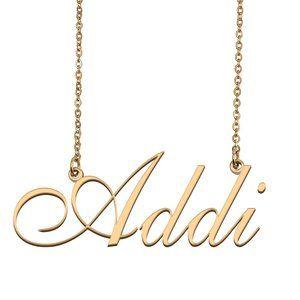 Custom Personalized Addi Name Necklace